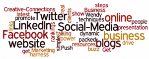 Social Media For Business Word Cloud
